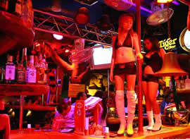 Phuket after dark bars and ladies